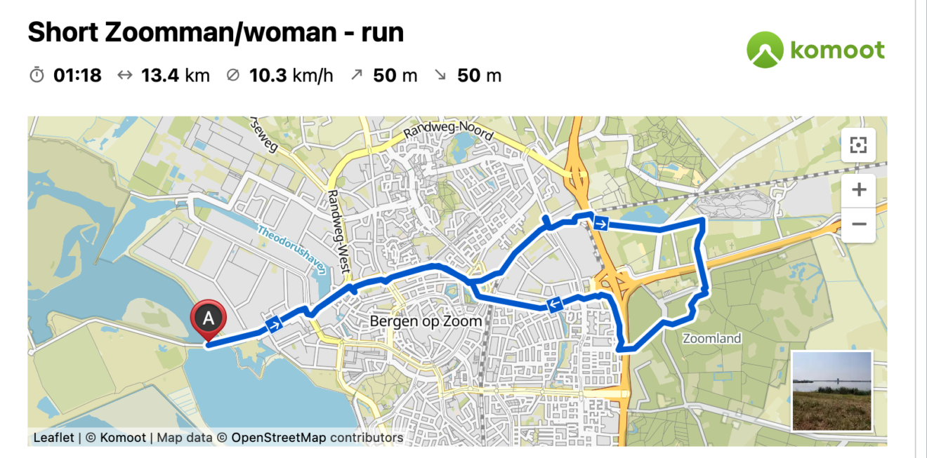 Routes Zoomman/woman